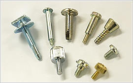Custom-made products like irregular shaped screws or special screws